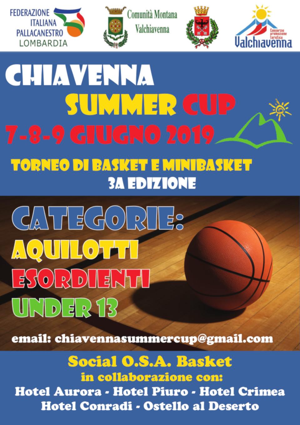 Chiavenna summer Cup