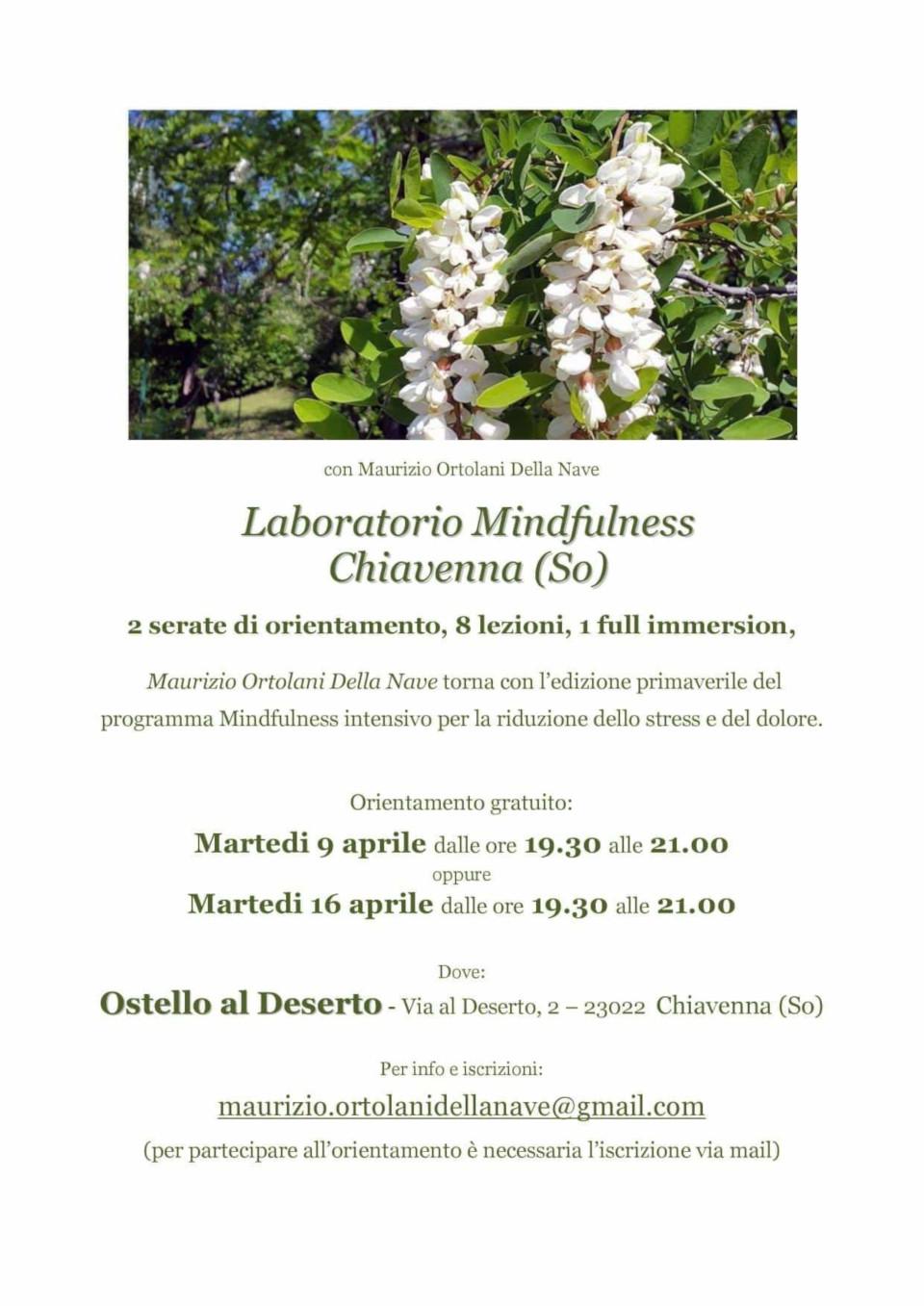 Laboratorio Mindfulness