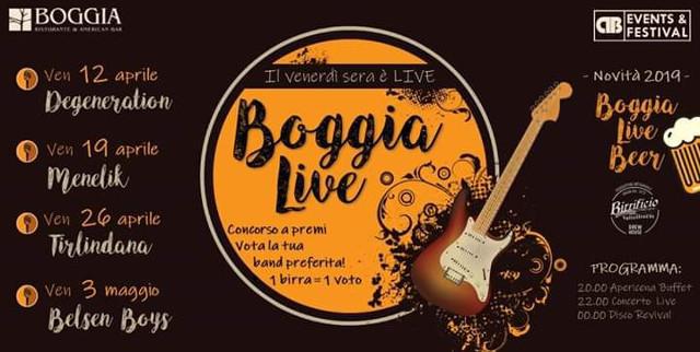 Boggia Live