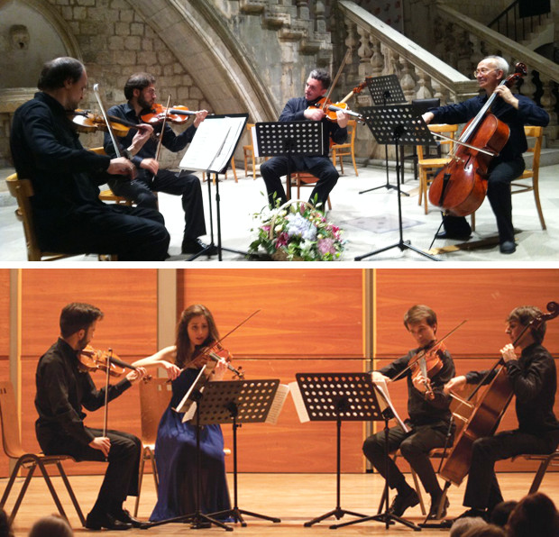 Due quartetti all'opera