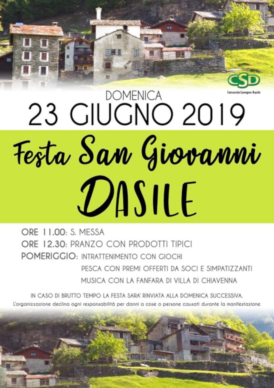 Festa San Giovanni a Dasile
