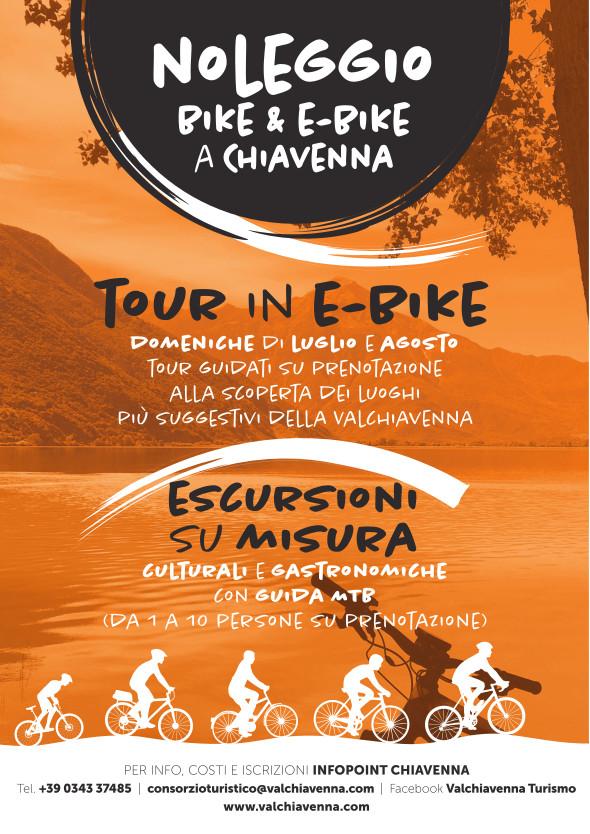 Tour in E-Bike Valchiavenna