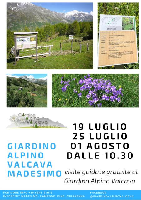 Visita al Giardino Alpino Valcava