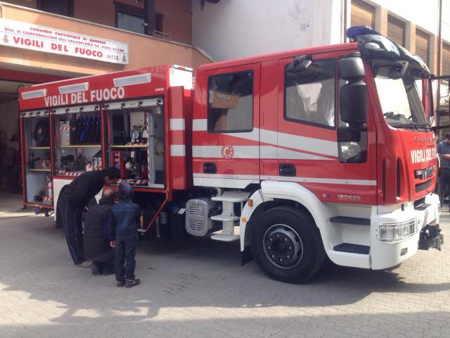 Festa Croce Rossa e Vigili del Fuoco