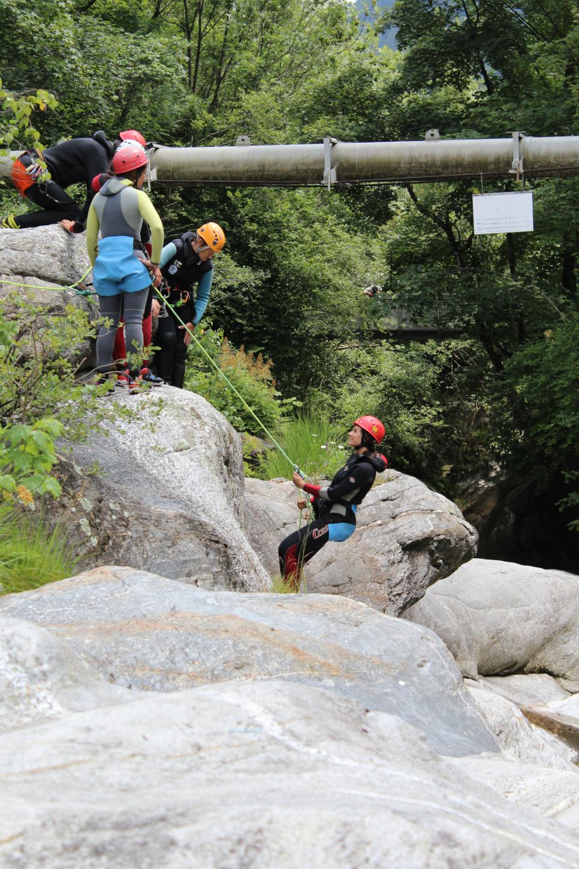 Scuola di canyoning
