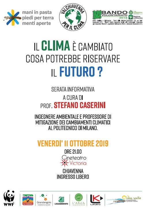 Serata informativa sui cambiamenti climatici