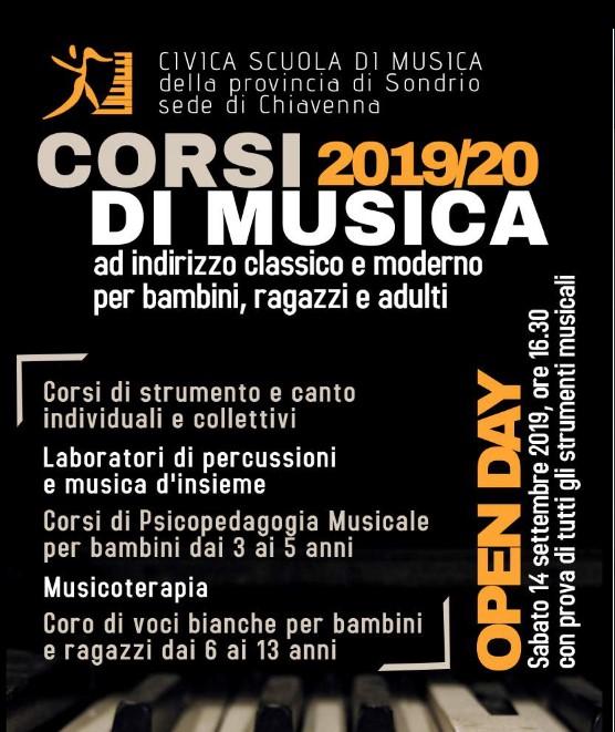Open day Scuola Civica di Chiavenna