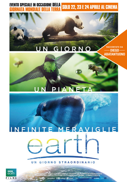 FILM Earth - un giorno straordinario