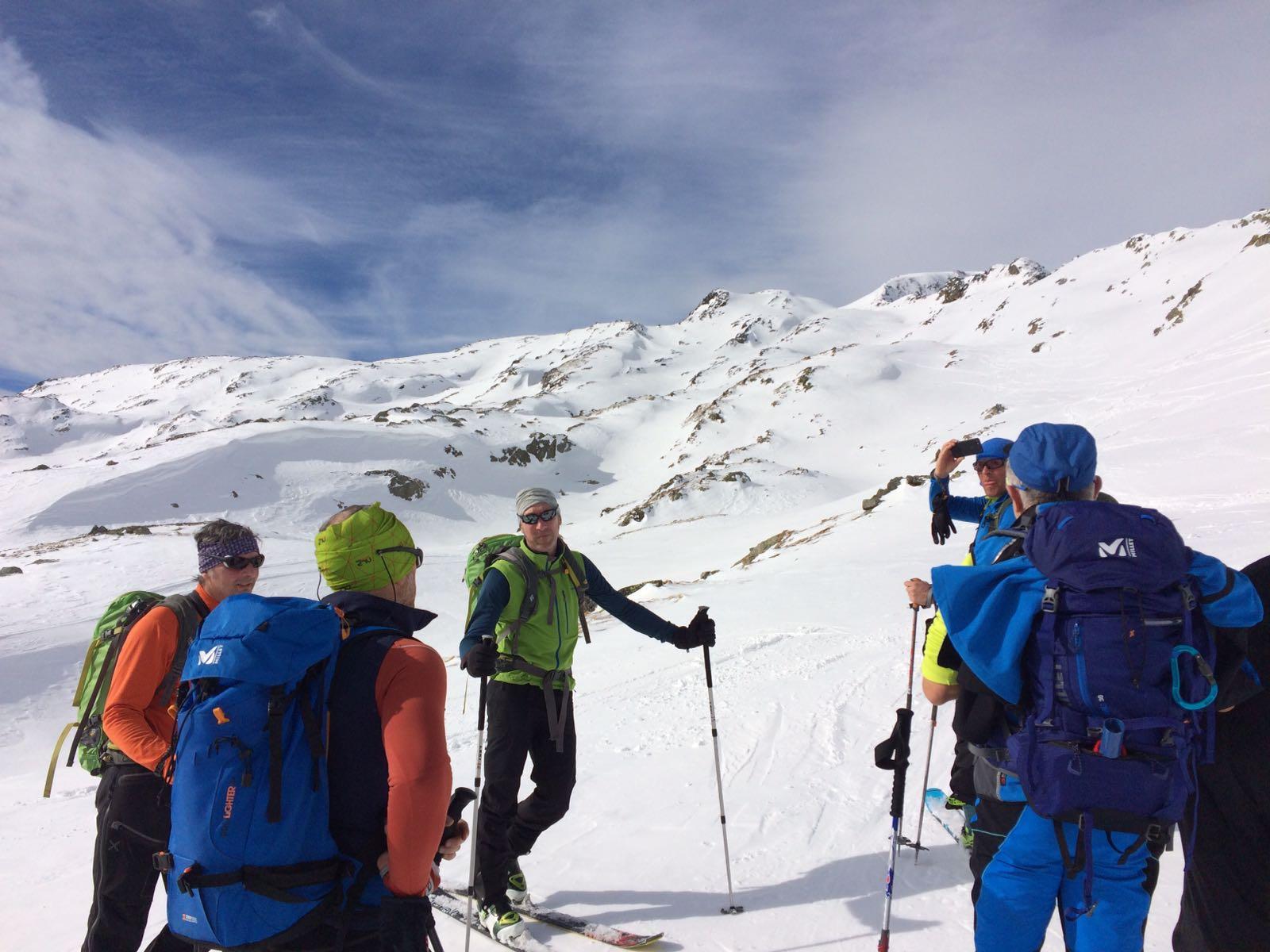 Uscita scialpinismo Tamborello