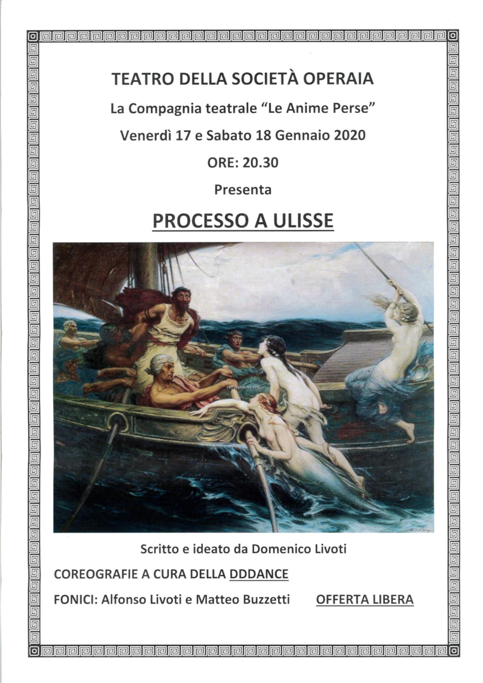 Processo a Ulisse