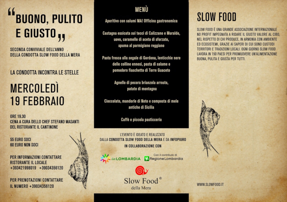 I presidi Slow Food in Italia