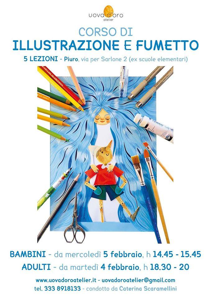Corso di illustrazione e fumetto
