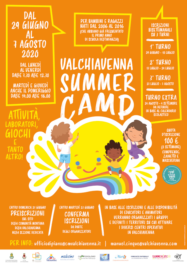 Valchiavenna Summer Camp