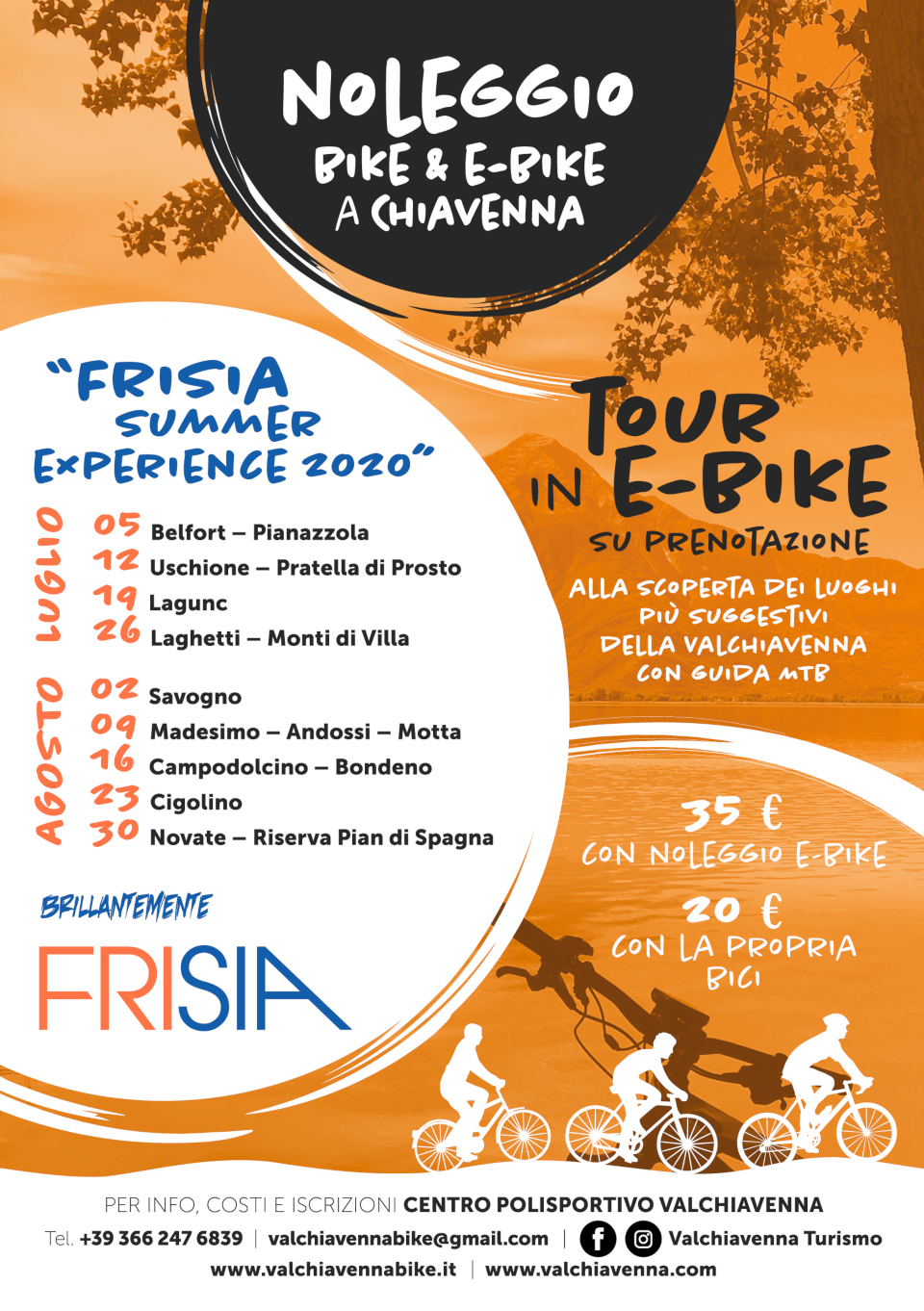 Tour in E-Bike