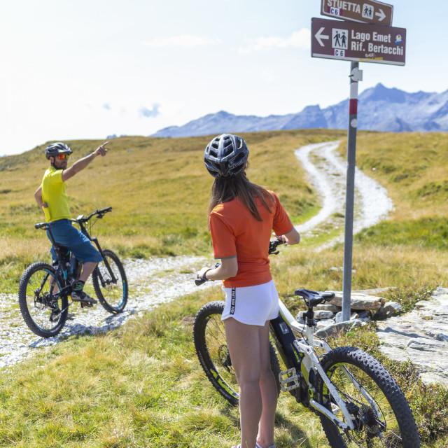 Escursione in e-bike e MTB 13-8