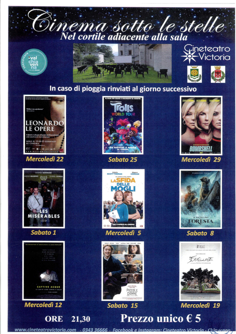 Cinema sotto le stelle2