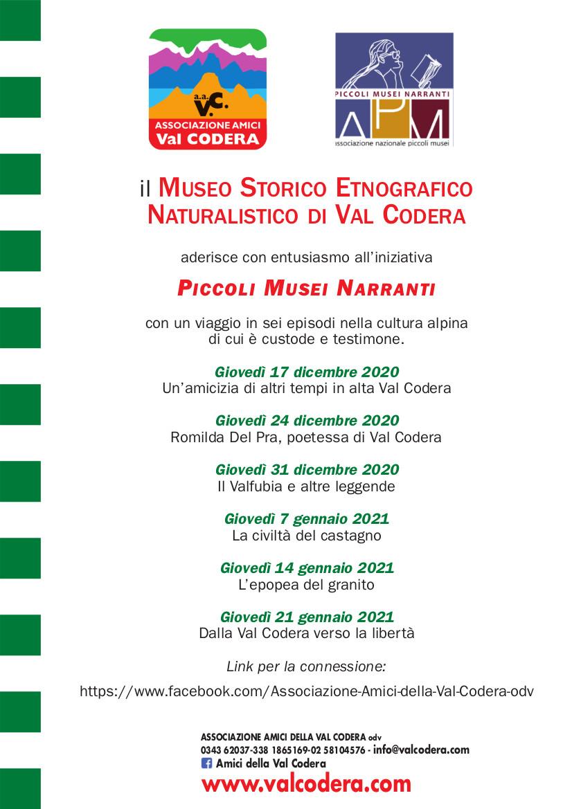 Piccoli Musei Narranti 2021