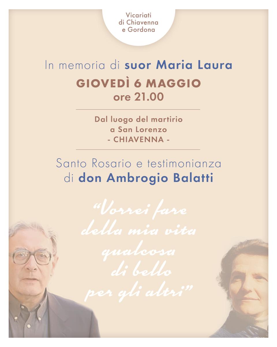 In memoria di suor Maria Laura