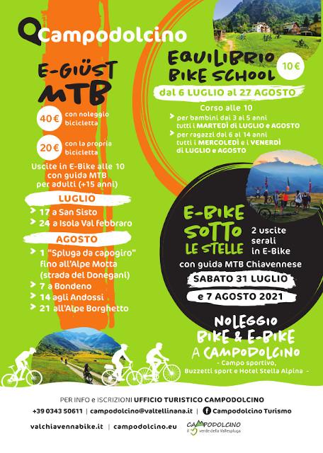 Equilibrio bike school agosto