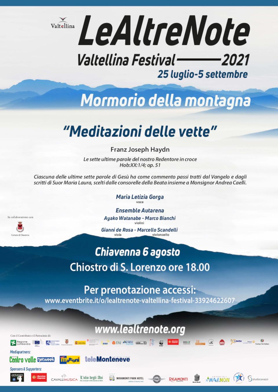 Festival della Valtellina 2021