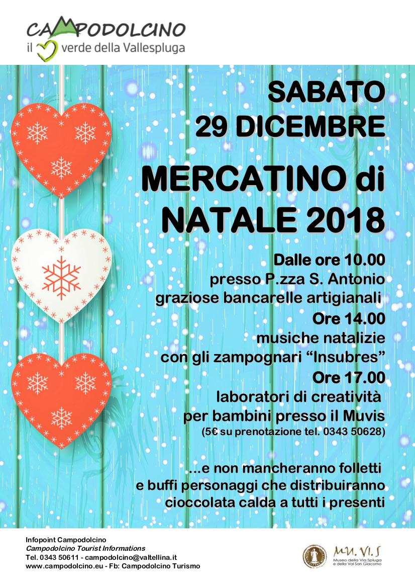 Mercatino di Natale a Campodolcino