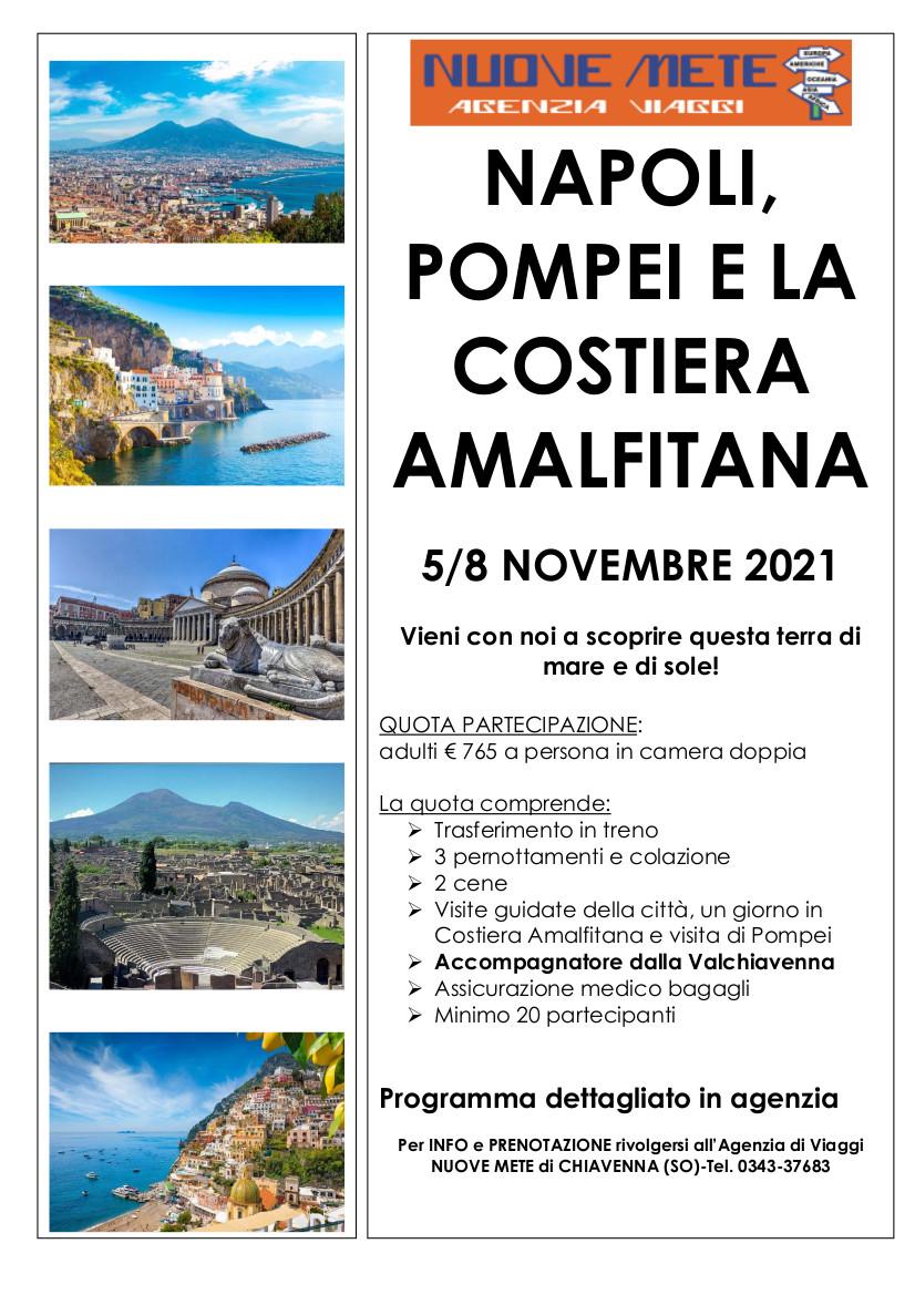 Napoli Pompei e la Costiera Amalfitana