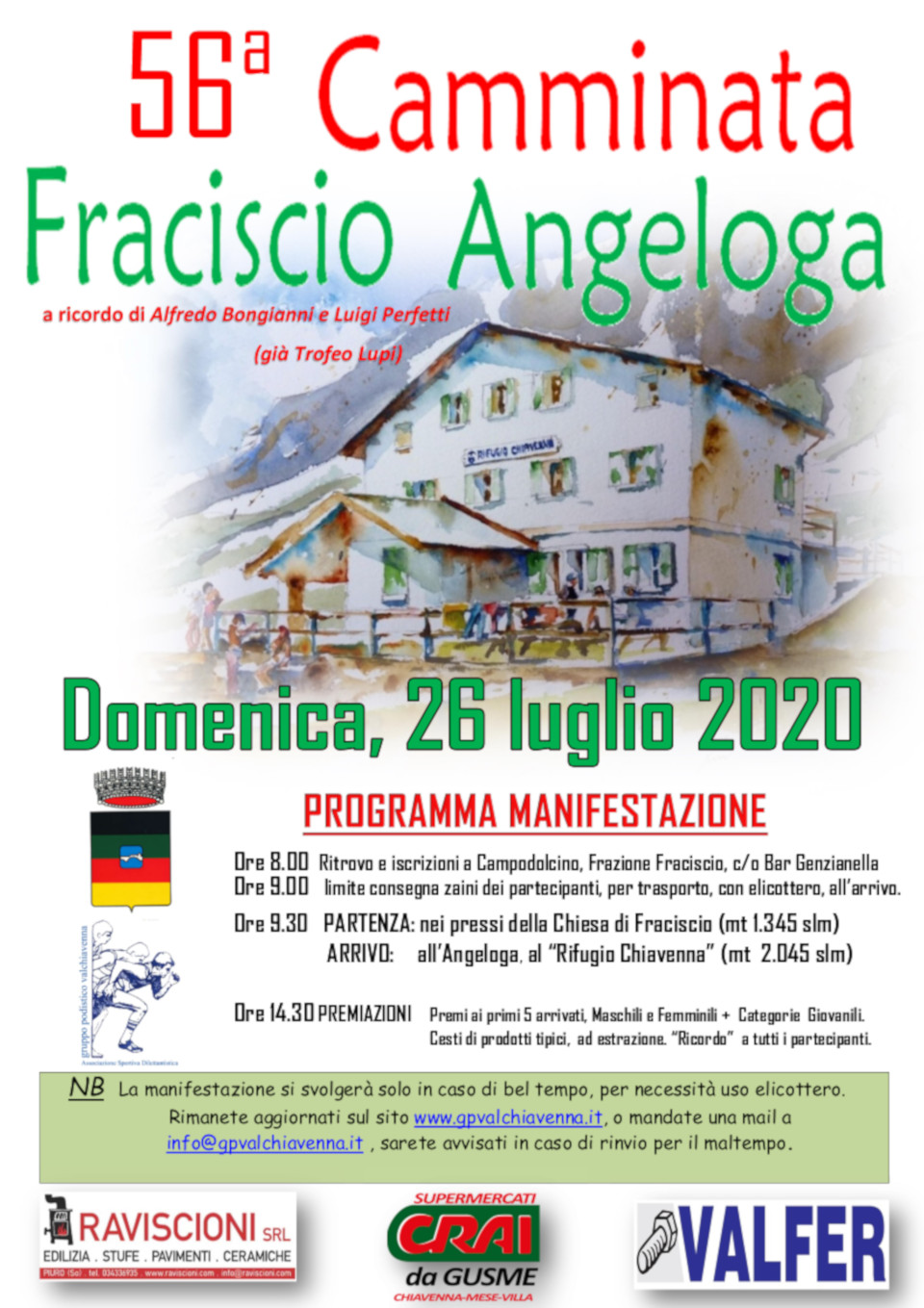 Camminata Fraciscio-Angeloga