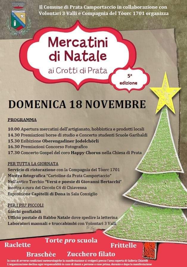 Natale a Prata Camportaccio