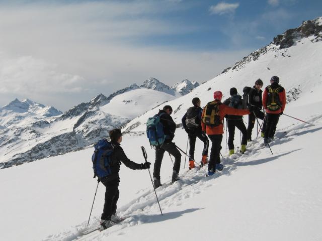 Escursione scialpinismo gennaio
