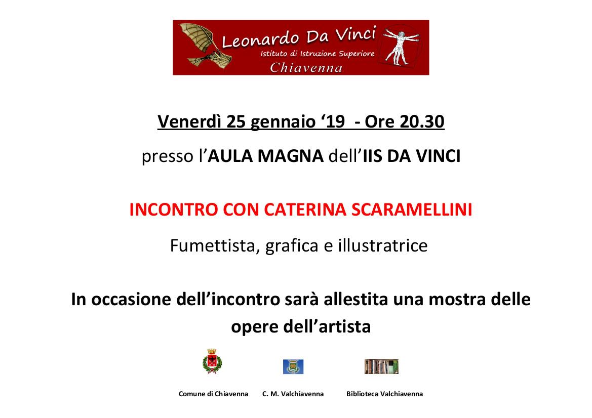 Incontro con Caterina Scaramellini